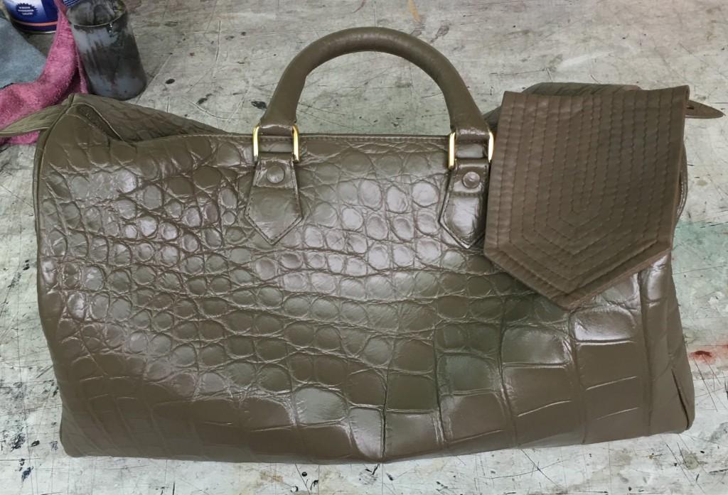 Damentasche nachher