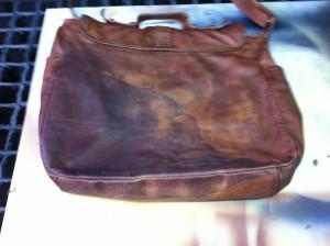 Handtasche vorher