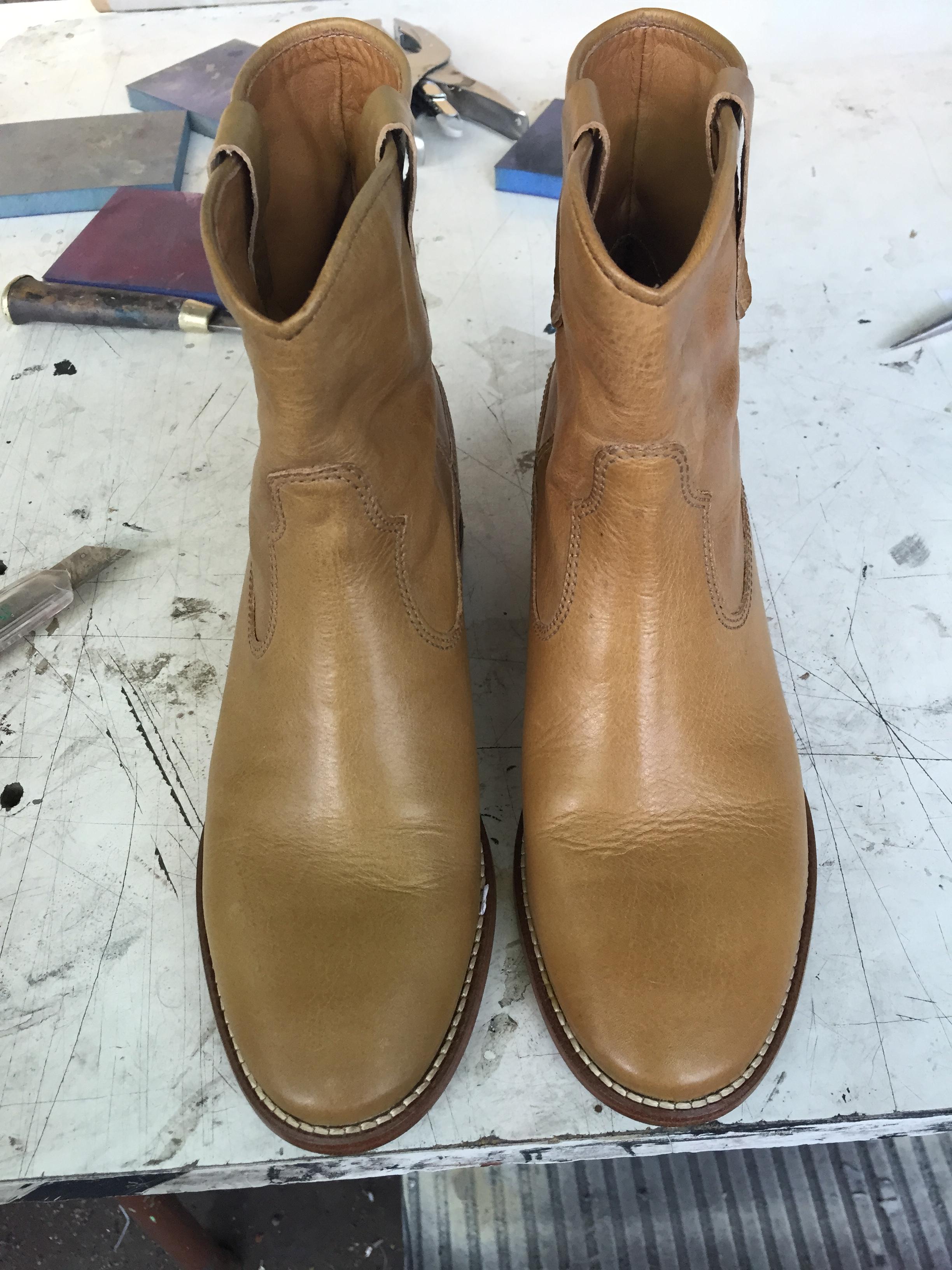 Atelier Lerner Die Lederfarberei Schuhe