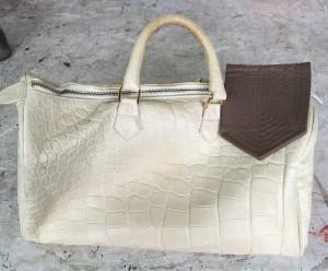 Damentasche vorher